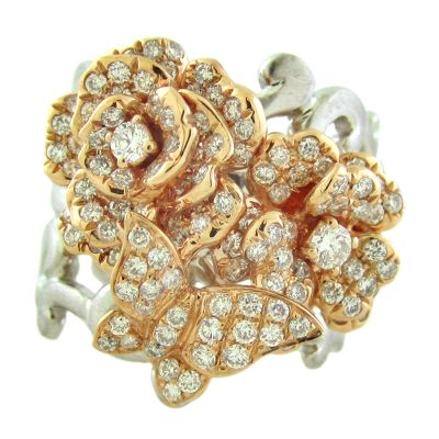 18k 1.30ctw Diamond Ring