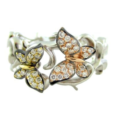 18k .33ctw Diamond Ring