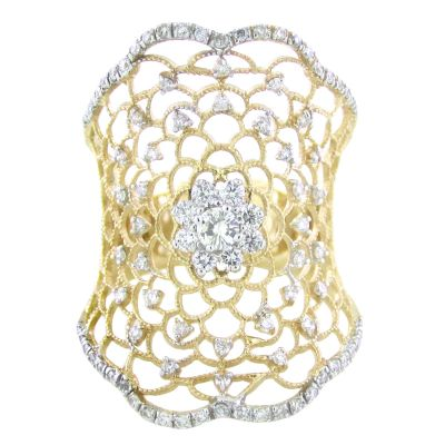 18k 1.67ctw Diamond Ring