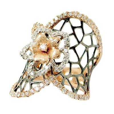 18k .80ctw Diamond Ring
