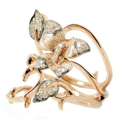 18k .20ctw Diamond Ring
