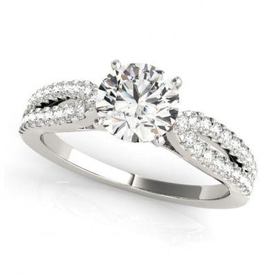Platinum Diamond Bridal Ring