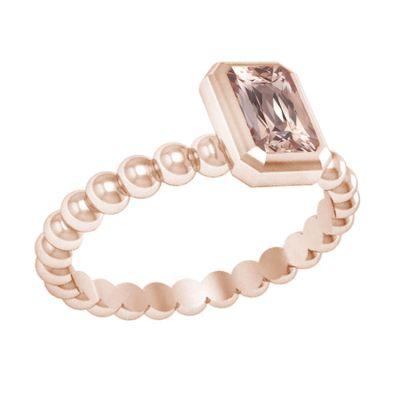 14K Morganite Ring
